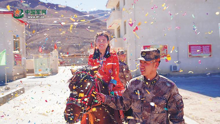 高原军人的爱情故事:翻越青藏高原来嫁你